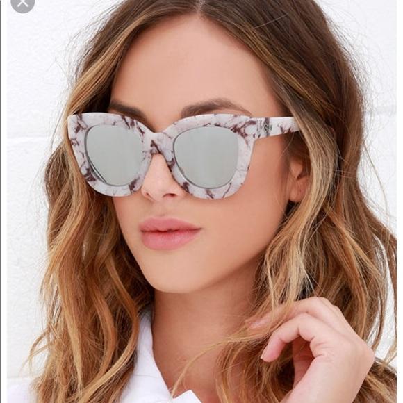 d44083868c QUAY Women s Sugar   Spice 60mm Cat Eye Sunglasses.  M 5ae3fd439cc7ef1475956f04